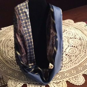 Accessories - Infinity Scarf created from 4 silk men's neckties